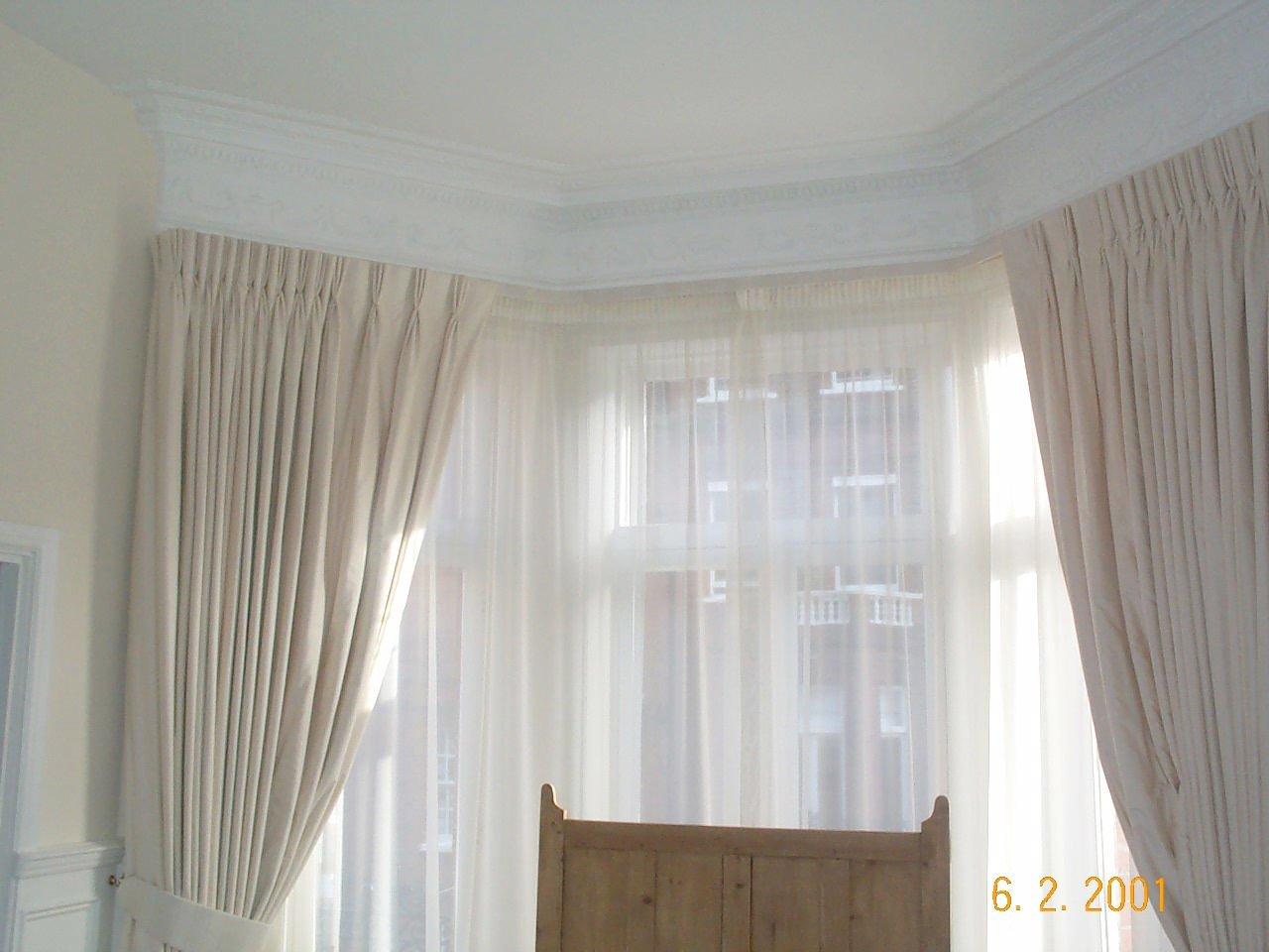 see through curtains