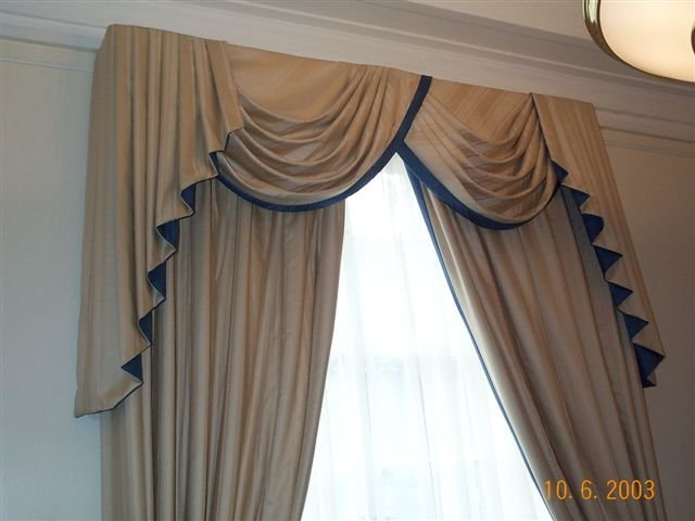 curtain frills