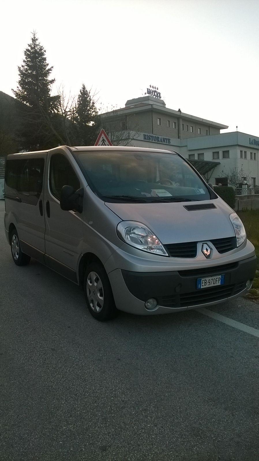 argento Renault van