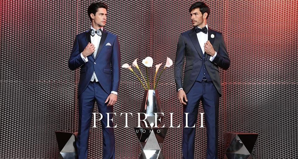 abiti cerimonia uomo e sposo PETRELLI