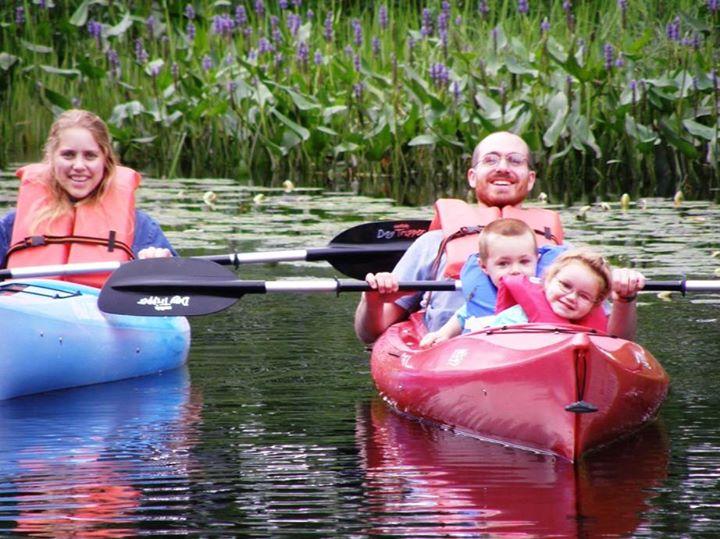 family kayak trips