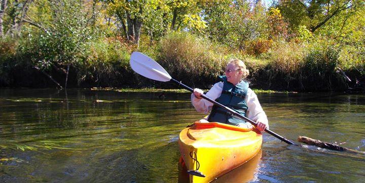 kayak trip in northern VT