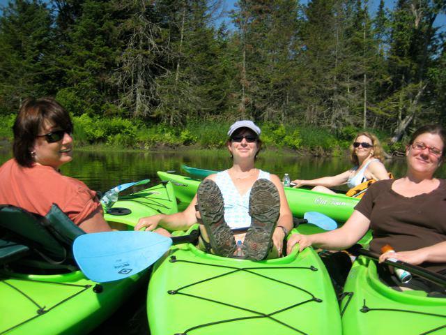 group outing kayak trips
