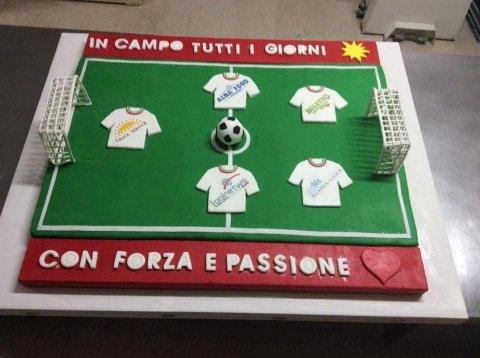 torte per i calciatore