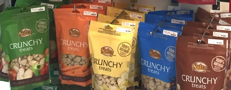 Nutro Crunchy Treats at Wags & Whiskers in La Crosse, WI