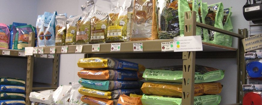 Food and Supplies for Dogs and Cats at Wags & Whiskers in La Crosse, WI