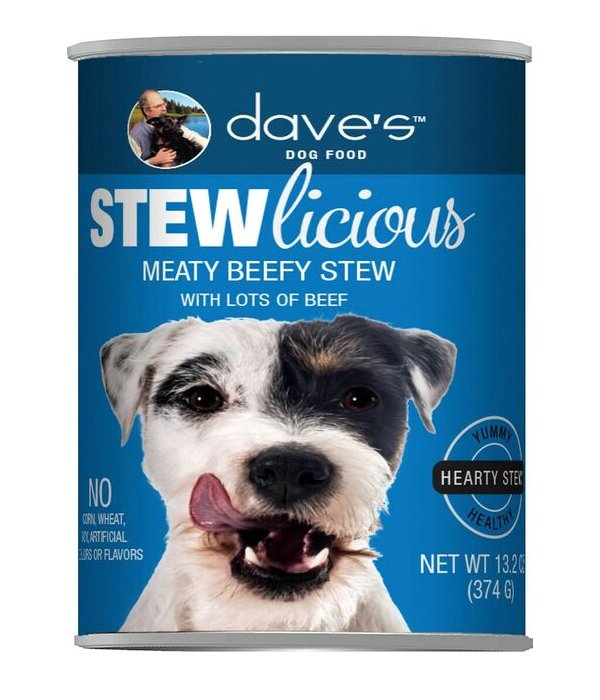 Dave's (canned) Dog Food at Wags & Whiskers in La Crosse, WI