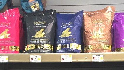 Fromm Dog Food at Wags & Whiskers in La Crosse, WI