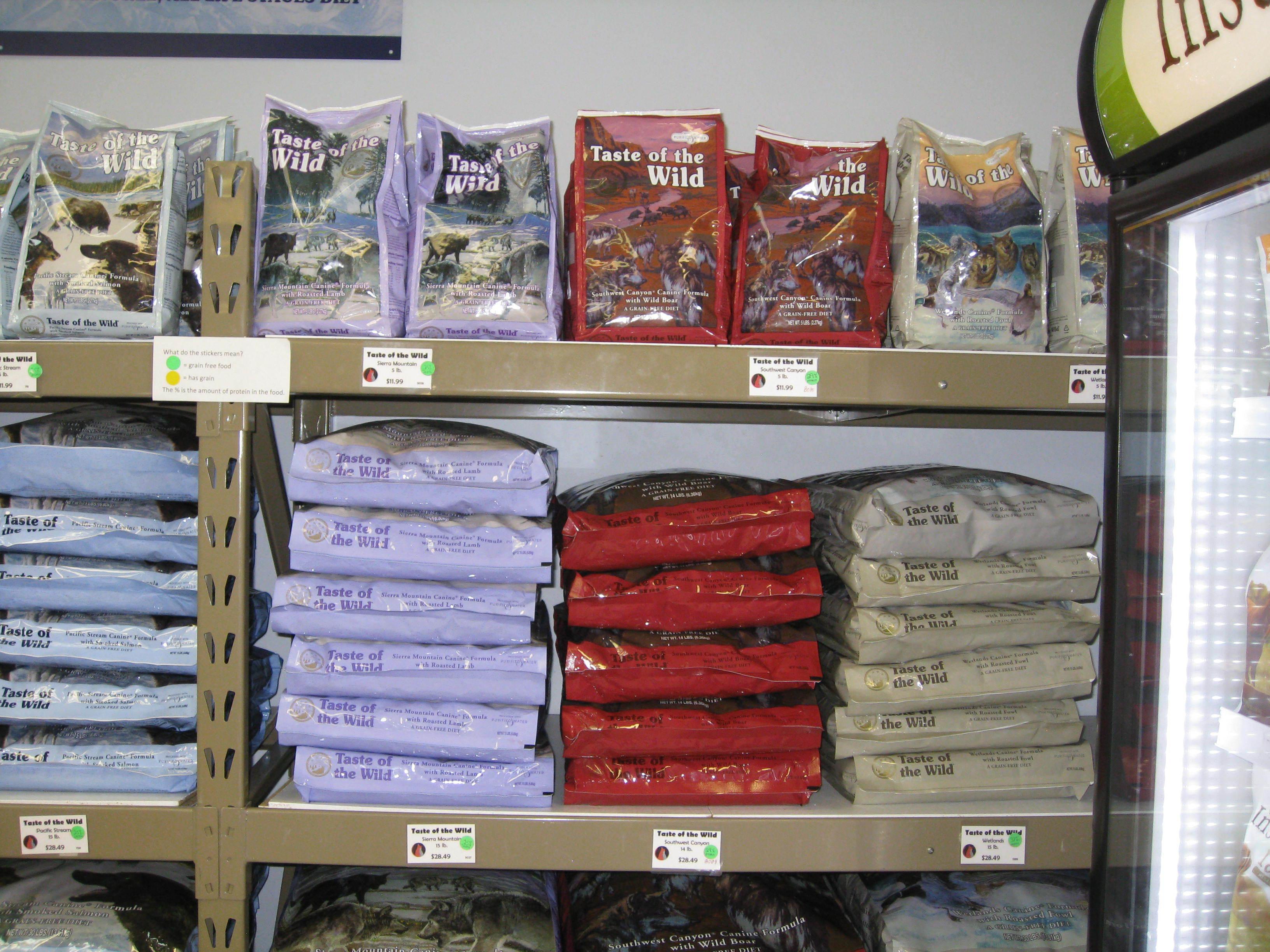 Taste of the Wild Pet Food at Wags & Whiskers in La Crosse, WI