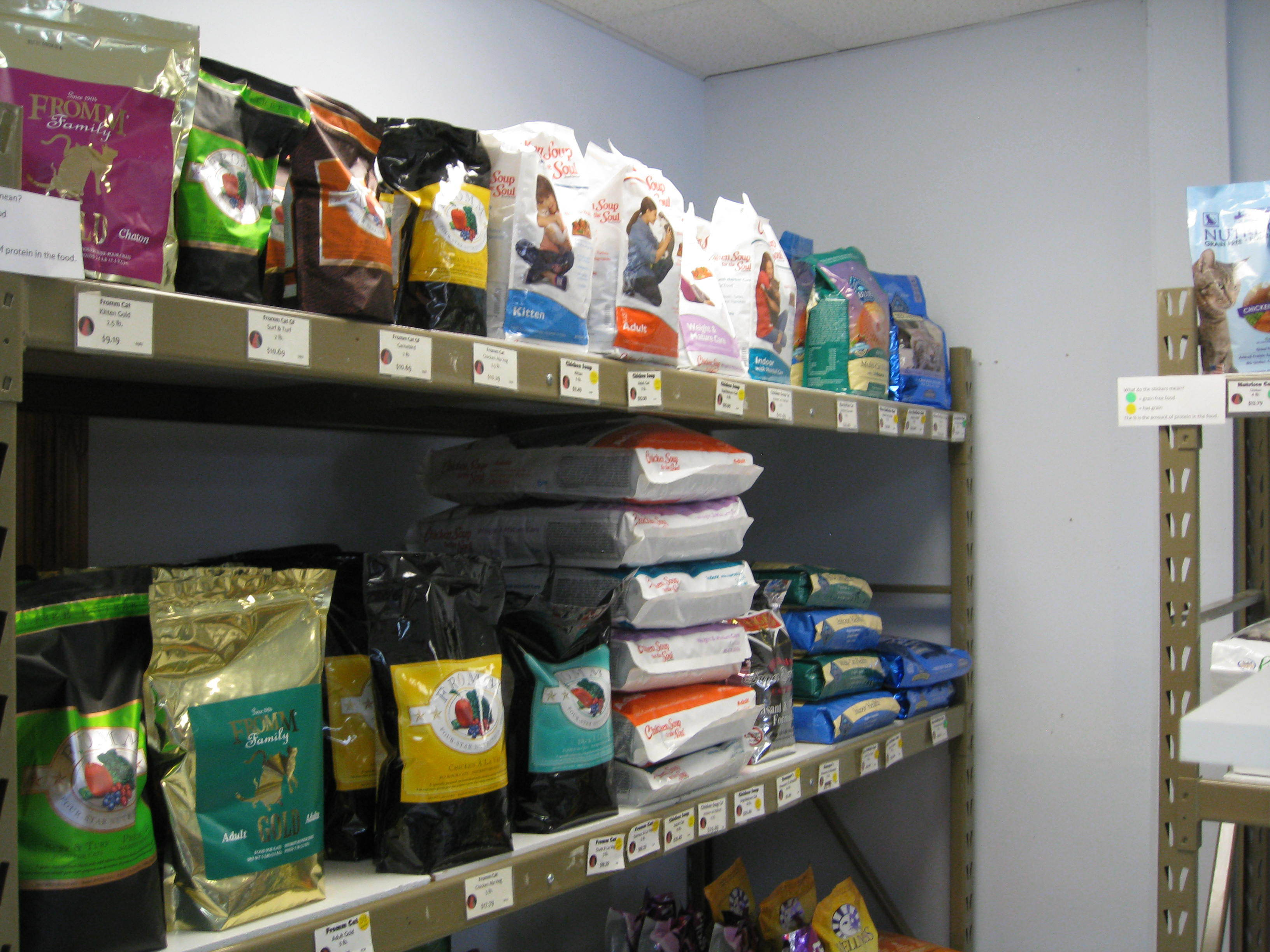 Fromm and Chicken Soup Pet Food at Wags & Whiskers in La Crosse, WI