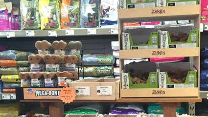 Zukes and Other Treat Brands at Wags & Whiskers in La Crosse, WI