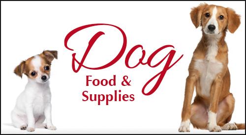 Dog Food and Supplies