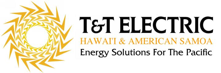 T & T Electric logo