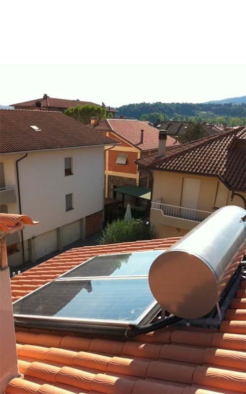 Impianto solare termico SAIT