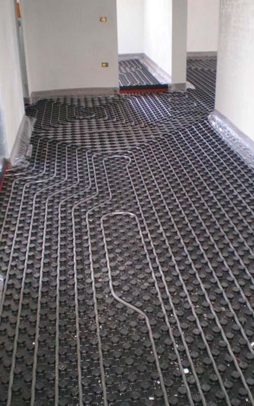 Pannelli radianti a pavimento - SAIT Climatzizazione