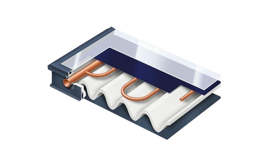 Pannello solare - sezione interna