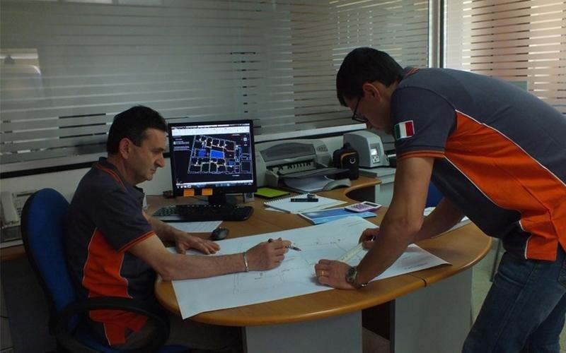 Ufficio progettazione SAIT Climatizzazione