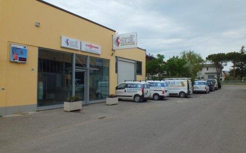 Sede SAIT Climatizzazione - Città di Castello
