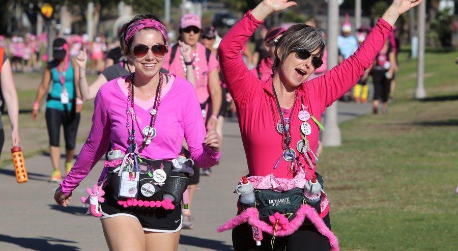 Sarah Blik and Daughter at Susan G. Komen 3-day walk