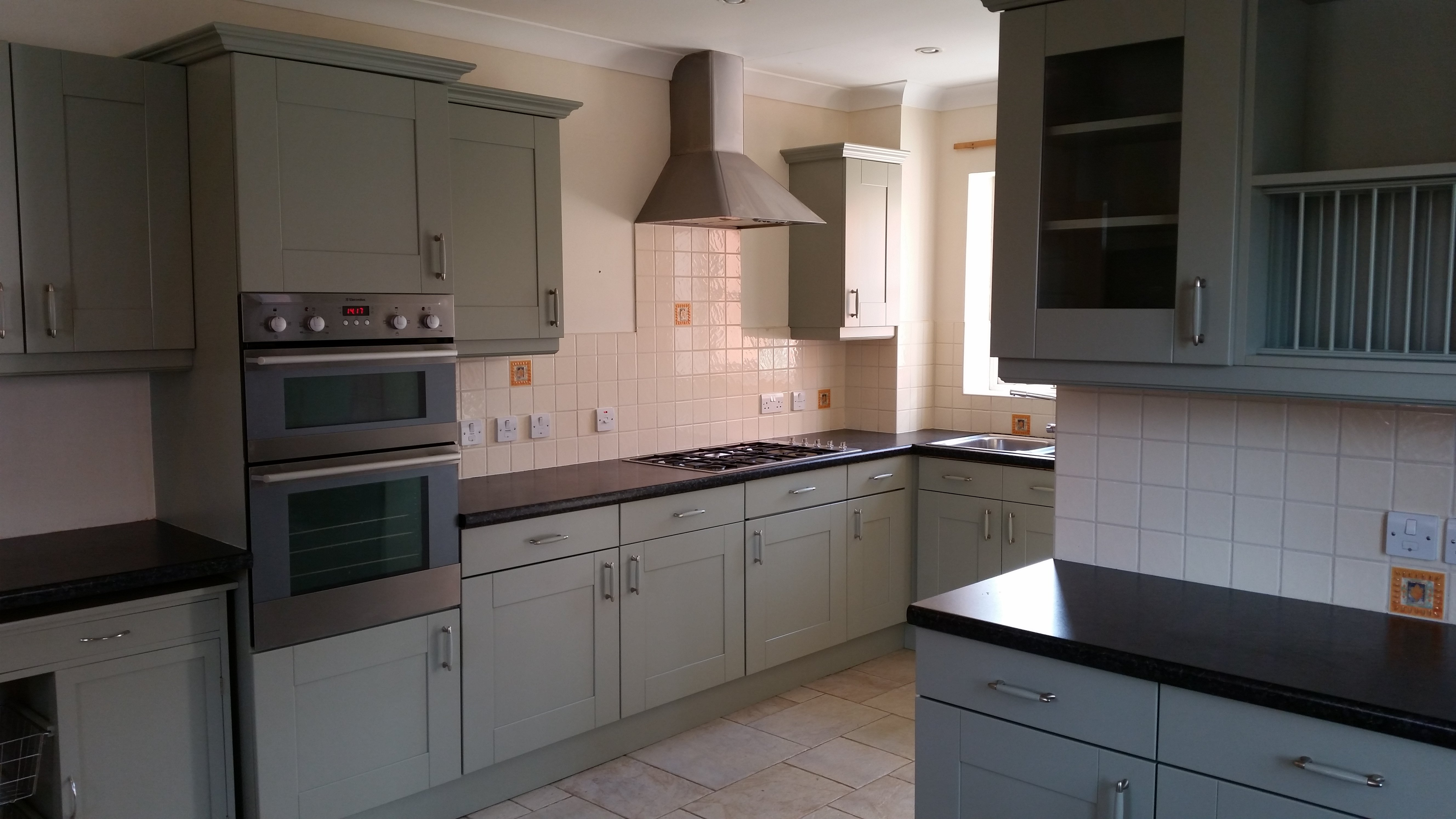 Respray Kitchen Cabinets Kitchen Renovation Gloucestershire
