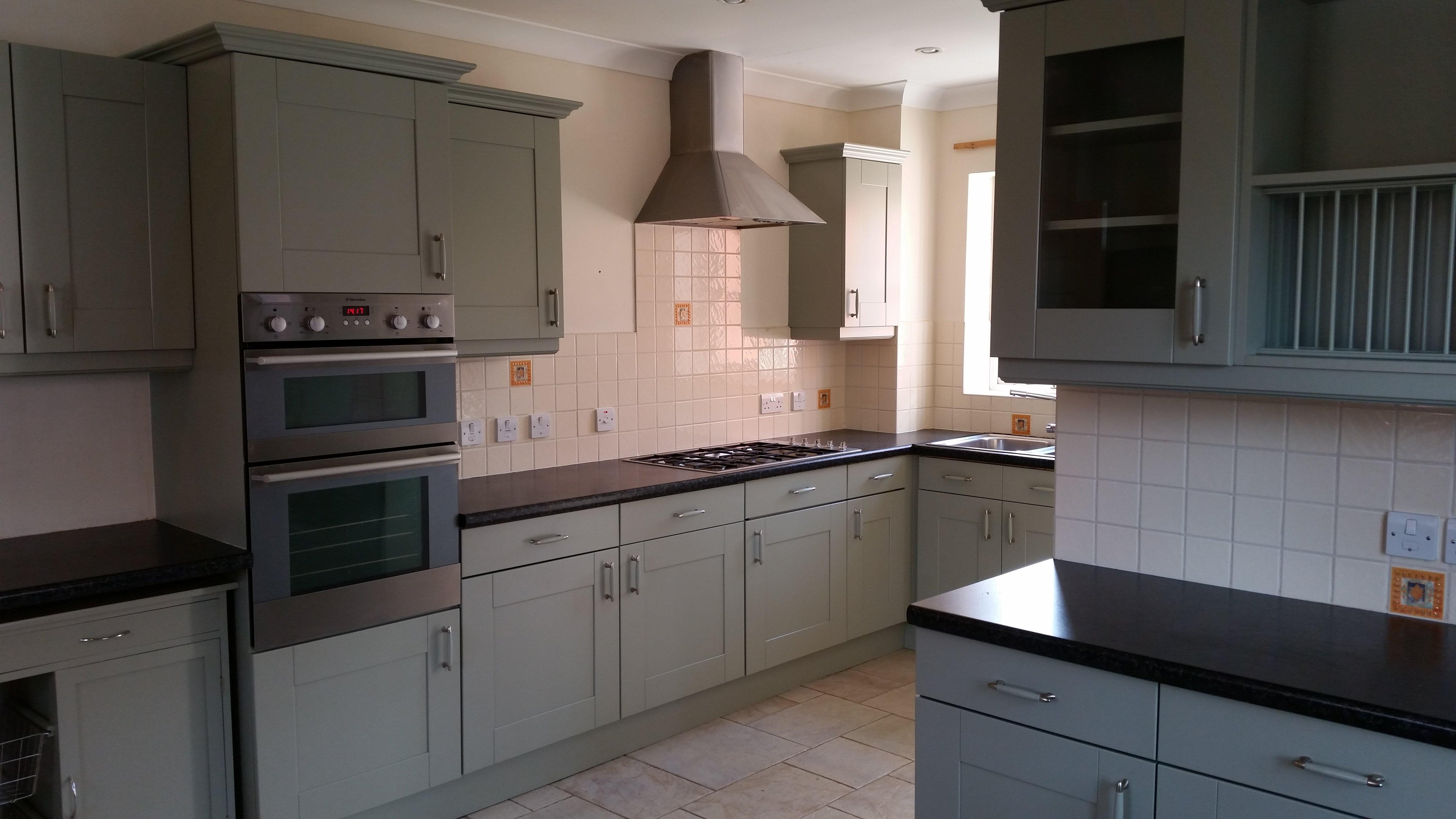 after kitchen refurbishment