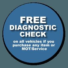 Free diagnostic check