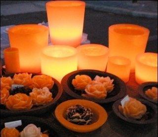 candele di cera