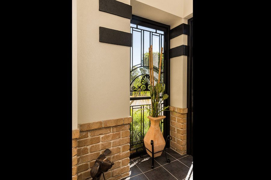 Decorative Doors | Gold Coast | Carefree Security and Blinds ...