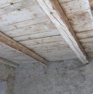 sabbiatura soffitto