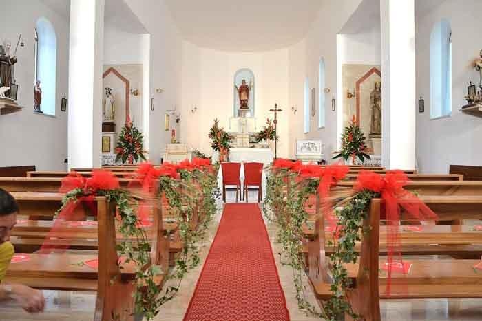 corridoio di una chiesa