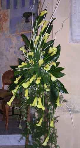 grande mazzo di fiori