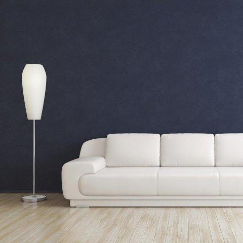 soggiorno con stucco veneziano