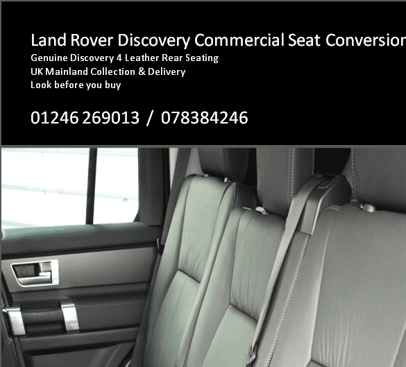 Purchase Used 2003 Land Rover Discovery Se Se 7 Sport: Land Rover Discovery Commercial Seat Conversion