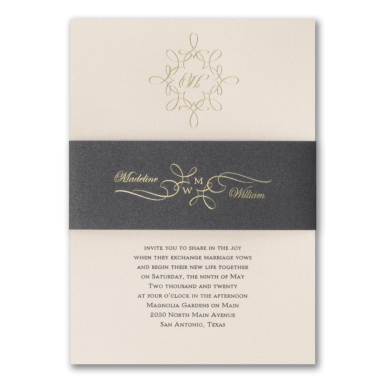 Carlton Cards Wedding Invitations: Custom Wedding Invitation Printing