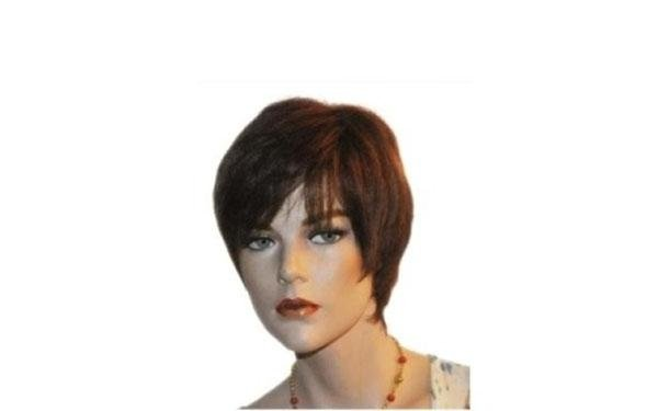 Parrucca a capello vero - Monia