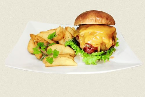Great Cheeseburger in Nagoya