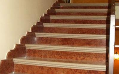 scala in marmo enna
