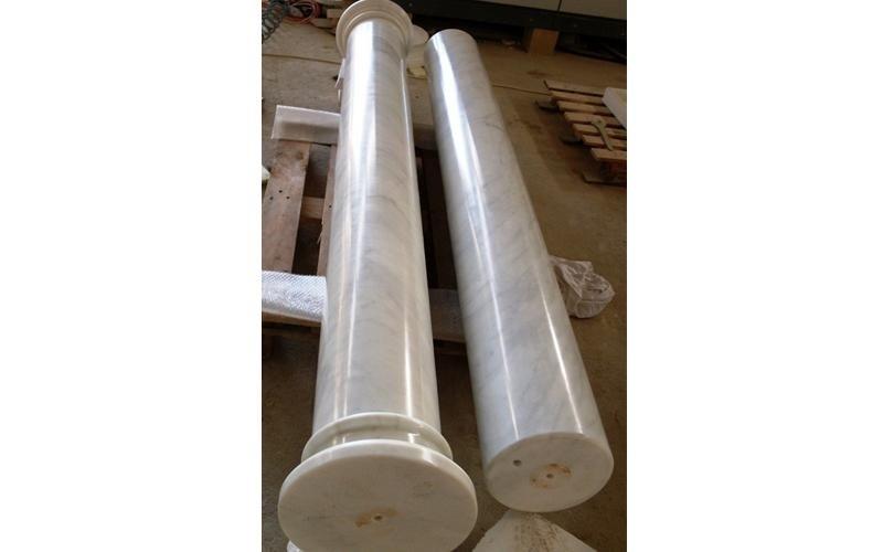 colonne in callacatta enna