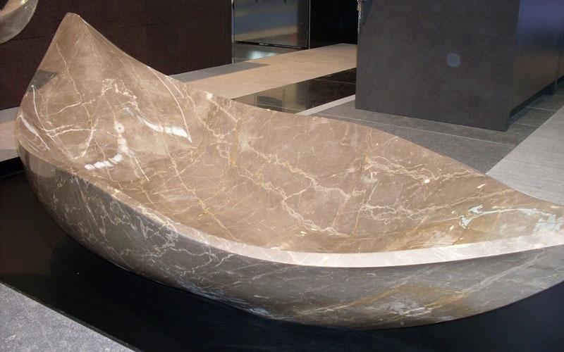 vasca da bagno marmo grigio enna