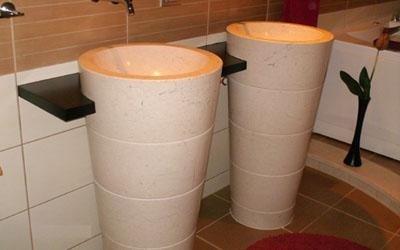 lavabi in marmo enna