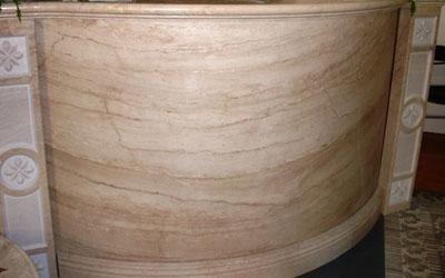 bancone in marmo di orosei enna
