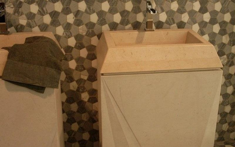lavabo piramide marmo di trani enna