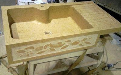 lavabo giallo egizio enna
