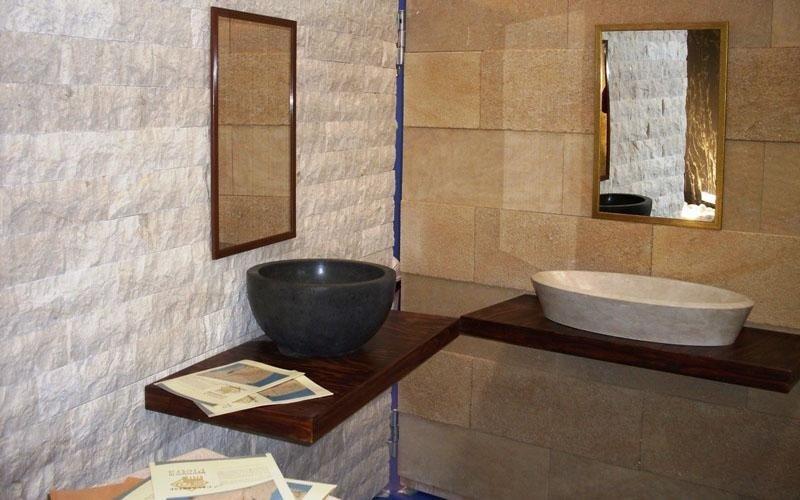 lavabo ciotola in pietra enna