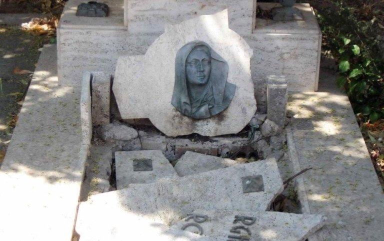 restauro tombe, ripristino tombe, restauro lapidi, Viterbo