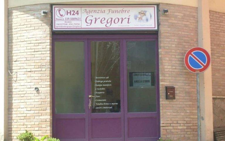 Agenzia funebre Gregori, Funerali Vallerano, Funeali Viterbo, Servizi funebri completi 24 H Viterbo