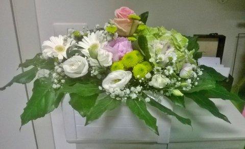 composizione floreale per comunioni