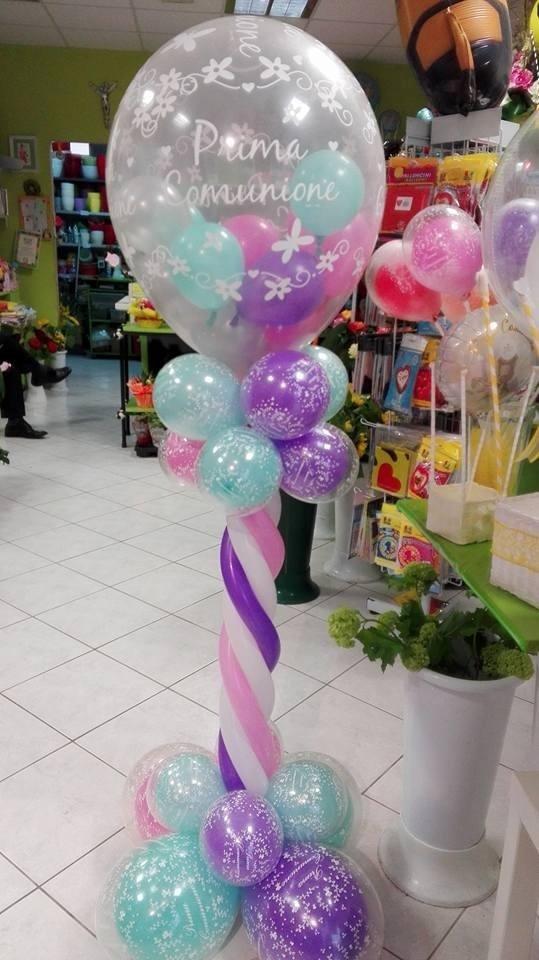 palloncini per prima comunione
