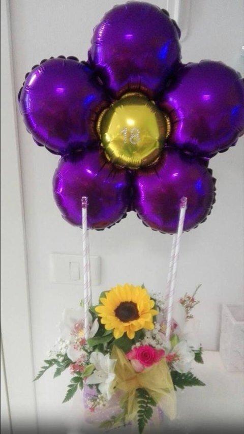 composizioni floreali per 18 anni