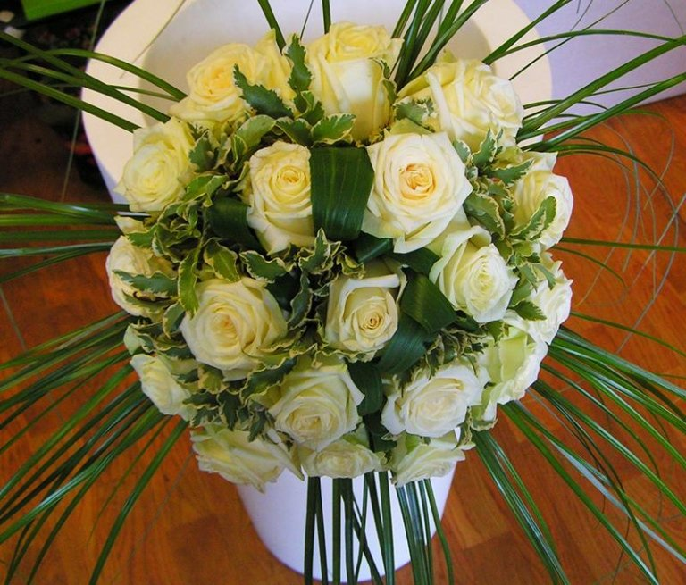 bouquet sposa - creazione